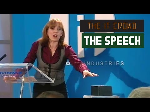 The Internet Speech The IT Crowd | Series 3 Episode 4