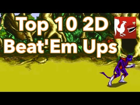 Top - Geoff, Ray, and Michael go over the top 10 2D Beat'Em Ups. RT Store: http://bit.ly/Zfbvrw Rooster Teeth: http://roosterteeth.com/ Achievement Hunter: http://achievementhunter.com Subscribe...