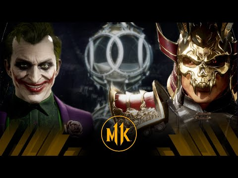 Mortal Kombat 11 - The Joker Vs Shao Kahn (Very Hard)