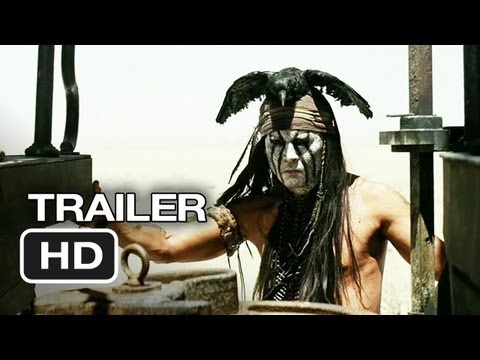 The Lone Ranger TRAILER (2013) - Johnny Depp Movie HD Video