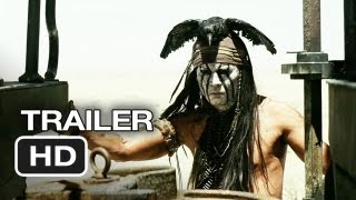 The Lone Ranger TRAILER (2013) - Johnny Depp Movie HD