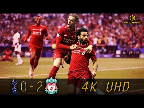 Tottenham Hotspur 0-2 Liverpool - UCL Final 2019 - All Goals & Extended Highlights (4K UHD)