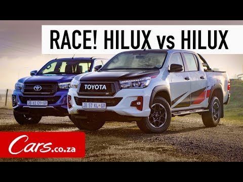 Race! Toyota Hilux GR Sport vs Hilux Legend 50 - Offroad Shootout