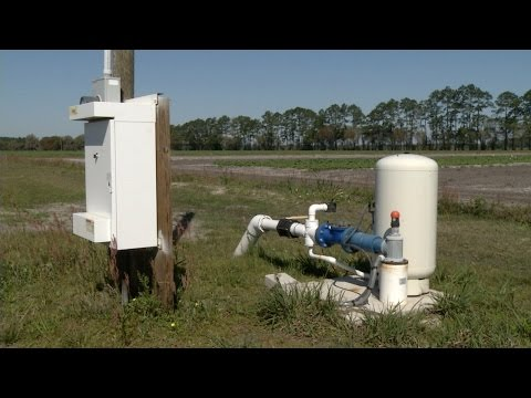 Submersible Pump Station for Field Crop Irrigation