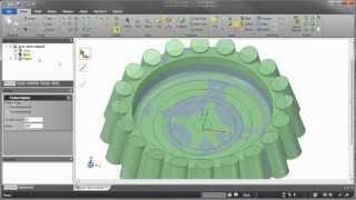 השלמת חורים בסריקה באמצעות Geomagic Design Direct