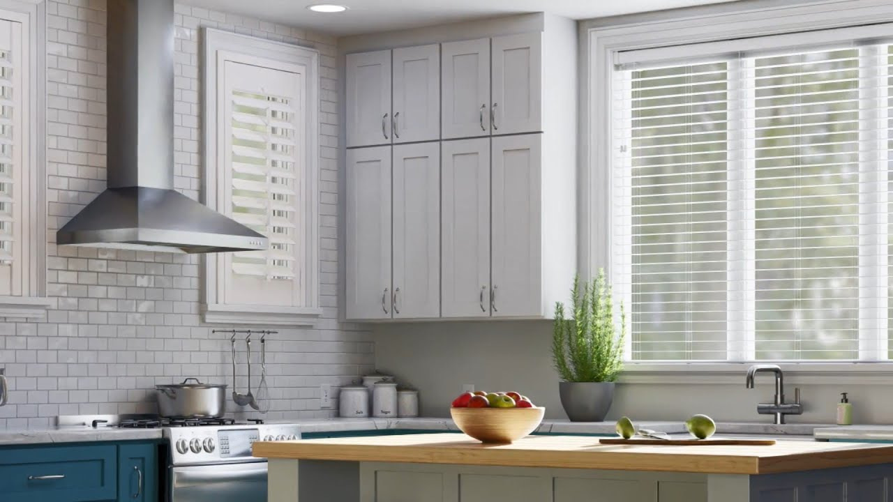 Learn more about moisture resistant Bali Faux Wood and Composite Blinds and Shutters.