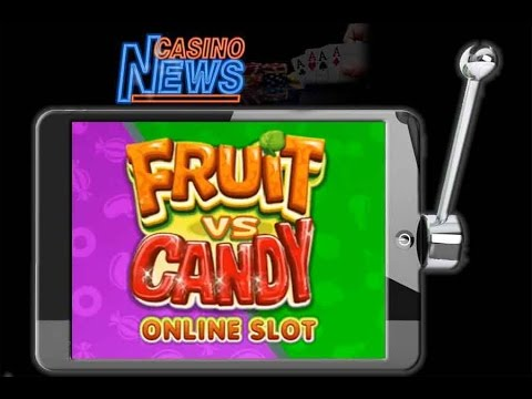 Der Fruit vs Candies Slot von Microgaming
