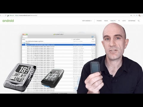 Wahoo Elemnt / Elemnt BOLT File Transfer Tips (Dropbox // USB)