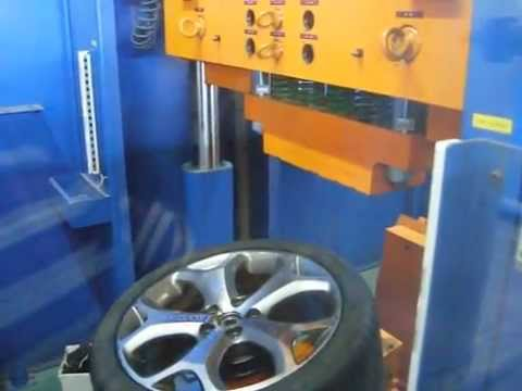 Тест литых дисков WSP Italy W950 MAX-MEXICO на удар спицы (Форд)