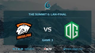 VirtusPro vs OG, Game 3, The Summit 6, LAN-Final