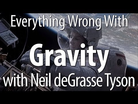 neil - Gravity had such specific science-related sins, we thought it wise to bring in someone who knows TONS more than we do about science, Mr. Neil deGrasse Tyson ...
