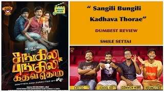 Sangili Bungili Movie Review | Jiiva,Soori, Radhika | Dumbest Review | Smile Settai