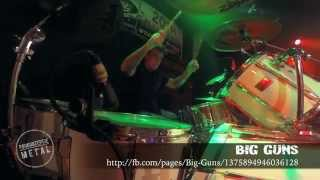 BIG GUNS John O'Shea - Take You Down/House Of Pain (Drum-Cam)