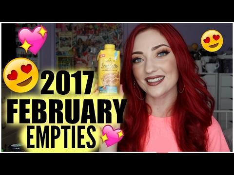 FEBRUARY EMPTIES 2017