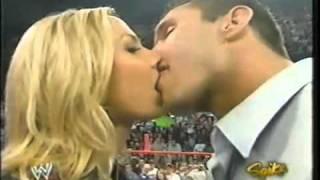 Randy Orton kiss