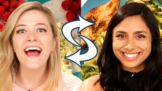 Best Friends Swap Diets For A Week • Kelsey and Michelle