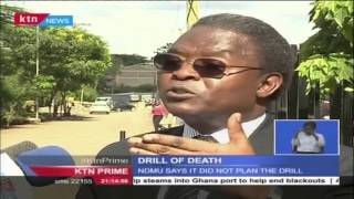 DRILL OF DEATH: Strathmore University students injured in a boached Police drill