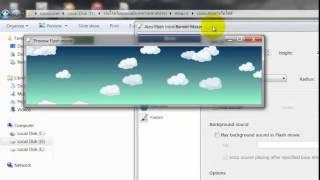 สอนการสร้างหัวเว็บไซต์ ด้วย Flash Intro Banner Maker