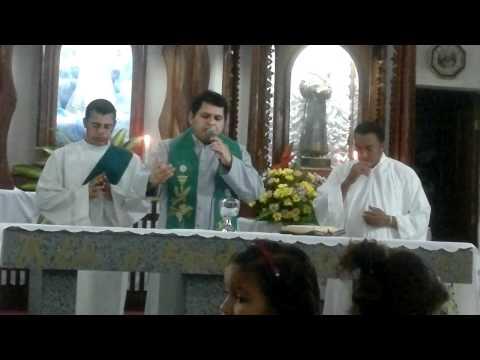 Santas Missões Populares em Aramari- Ba  2011 - Parte da Celebração Eucaristica
