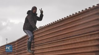 Video U.S. border wall a daily reality for thousands of Mexicans MP3, 3GP, MP4, WEBM, AVI, FLV Juli 2018