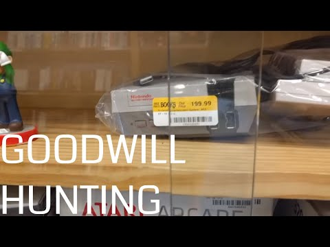 $199 for a NES Classic?! Goodwill Hunting in Tacoma