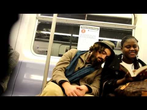 Sleeping On Strangers On The Subway