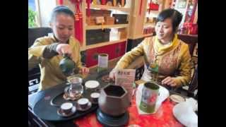 Puer China  city photos gallery : Pu'Er Tea Tasting in Kunming, Yunnan, China