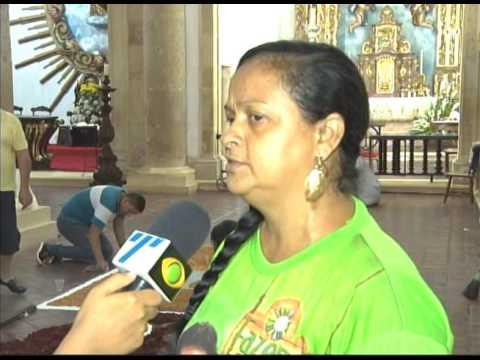 [JORNAL DA TRIBUNA] Católicos celebram Corpus Christi com tapetes e missas em Pernambuco