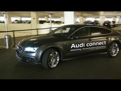 Consumer Electronics Show (CES) 2013 in 60: New Audi Pilotless Parking With Help From Smartphones