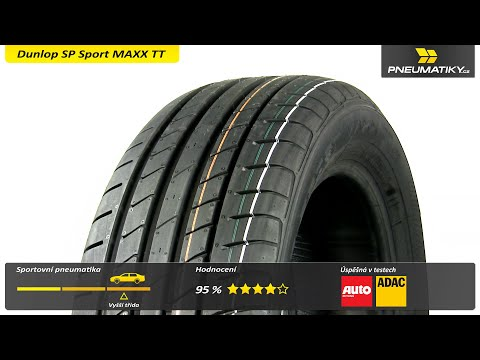 Youtube Dunlop SP Sport MAXX TT 235/55 ZR17 103 W XL MFS Letní