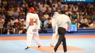 Stuardo Solórzano da medalla de bronce para Guatemala en taekuondo