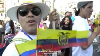 Marcha en Jerusalén Sukkot 2015 (Ecuador)