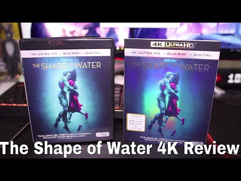 The Shape Of Water 4K Blu-Ray Review + Giveaway!