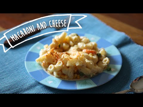Mac & Cheese With Veggies | Popular Lunch / Dinner Recipe For Kids | Kiddie's Corner With Anushruti