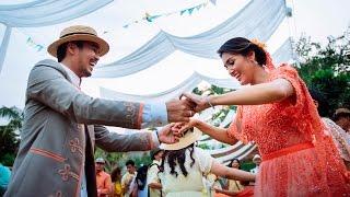 Video Mario & Dita - Picnic at the Wedding - THEUPPERMOTION MP3, 3GP, MP4, WEBM, AVI, FLV Oktober 2018