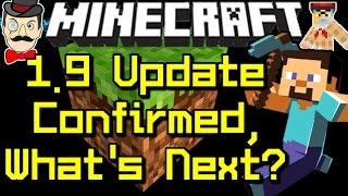 Minecraft News 1.9 UPDATE CONFIRMED&Microsoft's Plans?