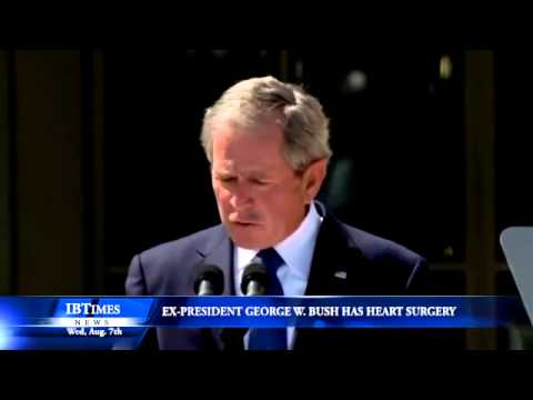 Ex-U.S. President George W. Bush Has Heart Surgery