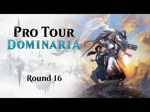 Pro Tour Dominaria Round 16 (Standard): Kazuyuki Takimura Vs. Kevin Jones And Top 8 Announcement