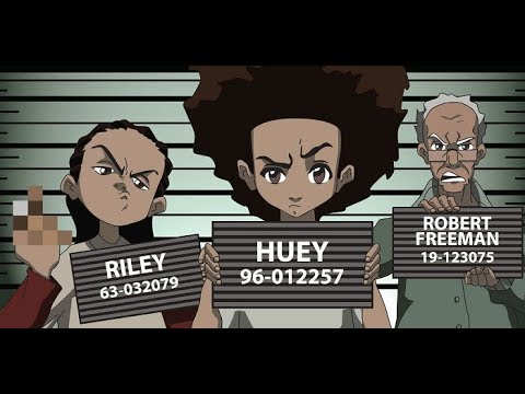 Watch A TV Show With Me (Boondocks Season 1 Part 1)