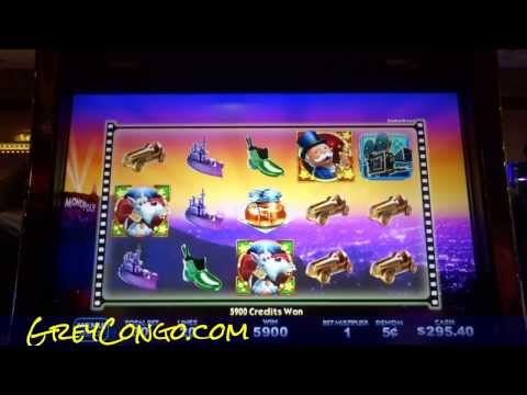 Slot Machine Win Monopoly Super Progressive $300 Slots Jackpot