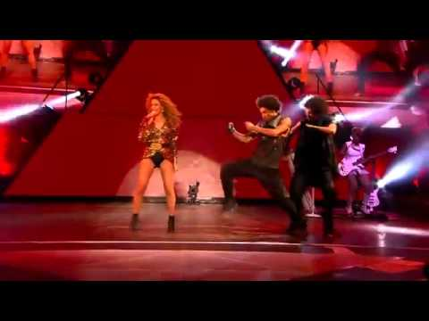 Video Beyonce - Run The World Girls With Les Twins At Glastonbury 2011 Performance (June 2011) download in MP3, 3GP, MP4, WEBM, AVI, FLV January 2017