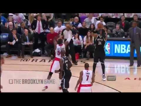 4th - Nets @ Raptors Game 1, 1st Round 2014 Playoffs.