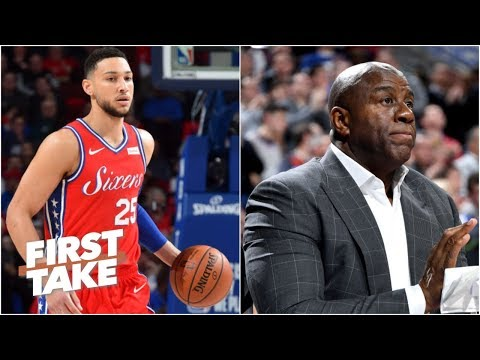 Video: It's perfectly reasonable for Ben Simmons to want to meet Magic Johnson – Max Kellerman | First Take