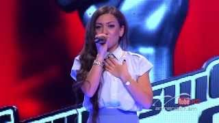 Karine Arustamyan, Mercy by Duffy -- The Voice of Armenia – The Blind Auditions – Season 3