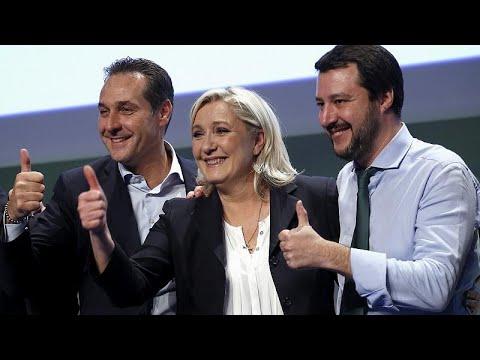 Εκστρατεία ακροδεξιών κομμάτων για τις Ευρωεκλογές με μπροστάρη τον Σαλβίνι!…