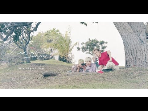 WINNER - 'LOVE ME LOVE ME' M/V MAKING FILM