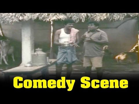 Ninaivu Chinnam Movie : Goundamani And Senthil Milk Comedy Scene