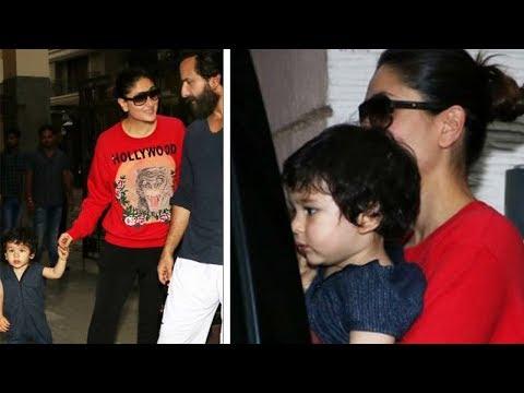 Kareena Kapoor Son Taimur Ali Khan Meets Soha's Da