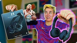 "Video Dwayne ""The Rock"" Johnson Made Headphones…? MP3, 3GP, MP4, WEBM, AVI, FLV Juli 2018"