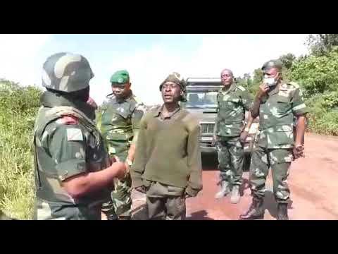 Message du gouverneur militaire aux ex rebelles cantonnés à Rumangabo au Nord Kivu